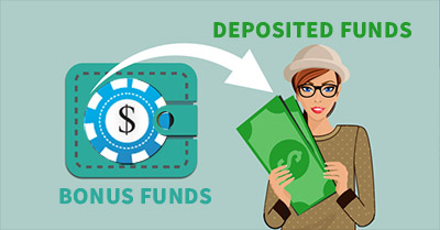 bonus and deposit funds