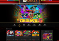 Pick your favourite casino games at BoVegas