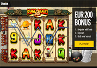 Bwin online casino homepage screenshot