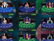 Live Casino Games at Darkslot Casino by Ezugi