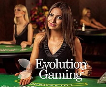 Evolution Gaming offers a first-class casino environment