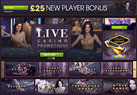 live casino at william hill