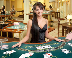 A Live Online Casino Room