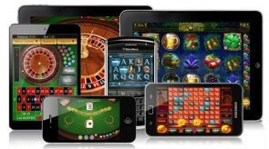 Plethora of casino games available for many mobile devices
