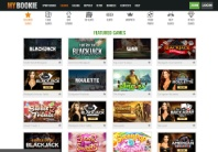 Great variety of casino games