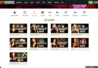 Play live table games at MyBookie Casino