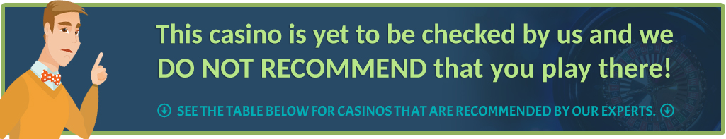 not verified casino site
