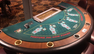 Pai Gow Poker is a unique poker variant
