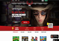 Red Stag online casino homepage screenshot