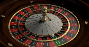 Roulette is a very popular casino game.