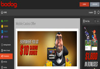try bodog casino on your mobile